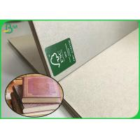 Cheap Hardcover Book Board 1.5mm 1.7mm 3mm Uncoated Grey Paper Board Sheets 100 * 80CM for sale