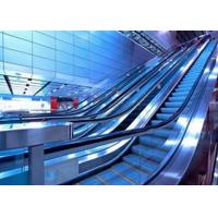 Buy cheap Electrostatic protector Airport Escalator Hairline finished stainless steel from wholesalers