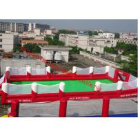 Cheap inflatable football pitch inflatable football field inflatable football field for sale for sale