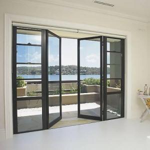 China aluminum casement door on sale