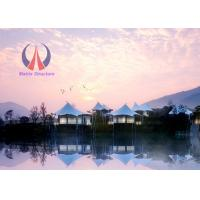 Cheap High End Prefab Luxury Tent Hotel Permanent Tent House Hi - Tech Material Modern Style wholesale