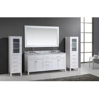 Cheap Solid wood modern double sink bathroom vanity, small bathroom sinks and vanities, small bathroom sinks for sale