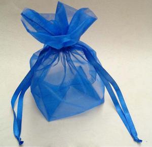 China Eco-friendly organza drawstring bag,organza pouch wholesale on sale