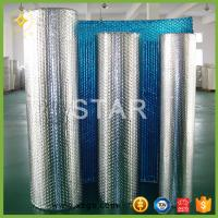China bubble wrap aluminum foil heat resistant insulation on sale