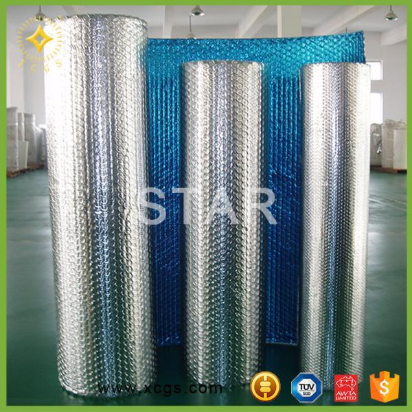 Quality bubble wrap aluminum foil heat resistant insulation wholesale