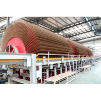 Cheap Particle Board Manufacturing Equipment Big Capacity Hot Press Type for sale