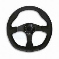 Cheap Car Steering Wheel with 350mm Diameter, Available in Various Colors  for sale