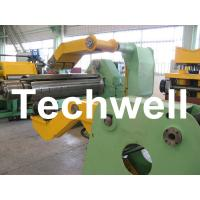 Fully Automatic Combined Steel Metal Slitting Cutting Machine With Control System