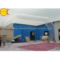 Cheap Transparent PVC Sealed Freestanding Inflatable Entrance Arch For Advertising for sale