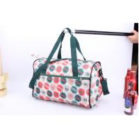 Cheap OEM High Quality Beautiful flower printing cheap luggage for travel or sports for sale