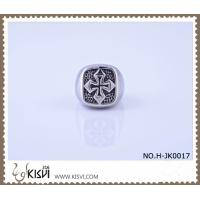 China Elegant & unique fashion design 316l stainless steel ring H-JK0017 on sale