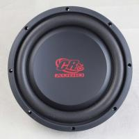 Shallow Mount 10 Inch Car Subwoofer , 2 Ohm Car Audio Speakers 10mm Top Plate