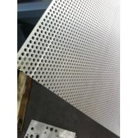 Cheap 1 mm Thick architectural Perforated Metal Mesh , Wire Mesh Sheets flooring for sale