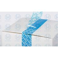 VOID Tamper Seal Tape For Carton Sealing , Protecting Your Valued Goods During Shipment