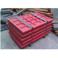 High Manganese Steel Impact Crusher Wear Parts / Stone Crusher Jaw Plate Spare Parts