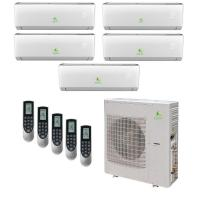 Cheap Low Voltage Duct Split Type Aircon For Small Room Auto Protection Energy Saving for sale