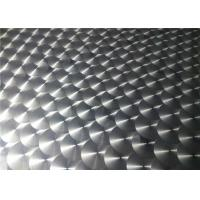 Cheap 1000 Series / 3000 Series Embossed Aluminum Sheet Metal For Electric Industry for sale