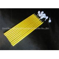 Quality Skinny Dessert Glittering Birthday Party Candles Yellow Cupcake Collection 26.2g wholesale