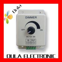 Cheap Waterproof IP67 LED Dimmer 8A Of LED Lighting Controllers DC 12V For Strip Light for sale