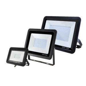 China Outdoor IP65 SMD LED Flood Light 100w Slimline Type , 220v 110v LED Flood Light on sale