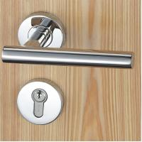 Cheap Satin Stainless Steel Mortise Door Lock Fits For 38 - 50mm Door Thickness wholesale