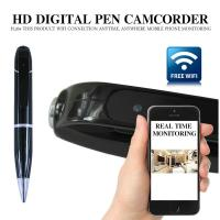Quality 720P HD WIFI P2P Pen Spy Hidden Camera Covert Video Streaming Recorder Home wholesale