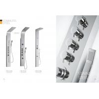 Cheap Multi Function Stainless Steel Shower Panels For Bathrooms / Country Clubs for sale