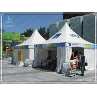 Professional Small White Walls High Peak Tents Waterproof CE TUV Certification