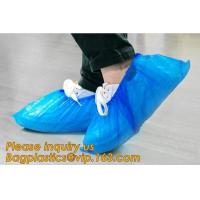 Cheap custom waterproof SMS pp non woven medical surgical use Polypropylene Disposable Shoe Cover non skid anti skid bagease for sale