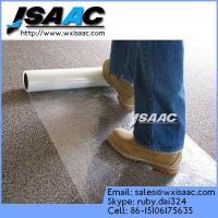 China High Stick Self Adhesive Plastic Film For Carpet on sale