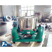 China Efficient Industrial Basket Centrifuge High Speed For Olive Oil / Slurry Filtration on sale