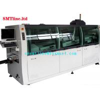 Cheap CNSMT Lead Free Dual SMT Wave Soldering Machine Streamlined Design 1300KG Weight for sale