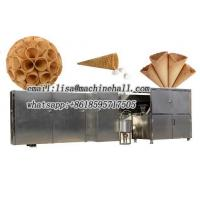 Stainless Steel Rolled Sugar Cone Machine Plant|Waffle Cone Baking Machine Suppliers