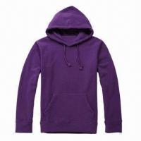 Cheap Sweatsuits, Hoodies Jacket, Sport and Casual Uniform, Made of Polyester Fleece Fabric for sale