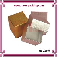 China Metallic Golden/Silver Foil Printed Jewelry Boxes ME-ZB007 on sale