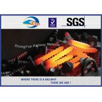 Buy cheap SGS Certified Railway Sleeper Screws Ss8 Tirefond Grade 5.6 Size 24x155mm Galvanized from wholesalers