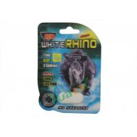 Cheap White Rhino 75000 Male Enlargement Pills To Enhance Sexual Power 3 Year Guarantee for sale