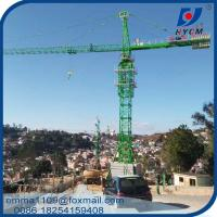 qtz 125 Tower Crane Cost For the High Rise Building 65M Wide Working Jib