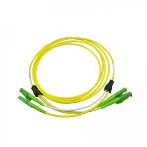 Cheap E2000/APC-E2000/APC Single Mode Simplex Fiber Patch Cord for sale