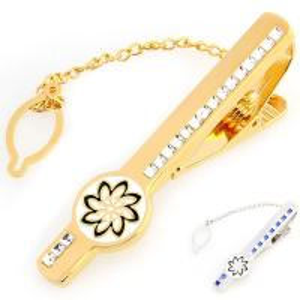 Cheap Make Your Own enamel rhinestone Tie Clip Men Jewelry Custom Cufflinks Tie bar for sale
