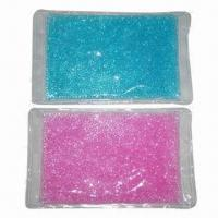 China Pearl hot and cold therapy packs, measures 30x18cm on sale