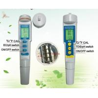 Cheap Portable Mini Detection TDS Water Tester PH Water Meter 3 In 1 0.01PH DC 6V for sale