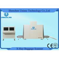 Buy cheap Dual Energy X Ray Baggage Scanner Tunnel Size 1m*1m Baggage Parcel Inspection from wholesalers