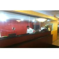 Cheap Extra Clear Flat Bullet Proof Glass Panel 24mm - 30mm For Bank for sale