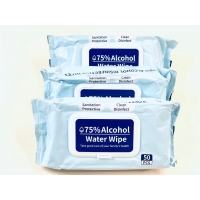 China Alcohol Hand Cleaning Disinfecting Wet Wipe on sale