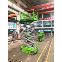 Cheap 6m Platfrom Height Hydraulic Scissor Lift DTC Control For Hotel for sale