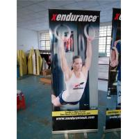 Cheap Roll Up Retractable Display Banners For Indoor / Outdoor Advertising for sale
