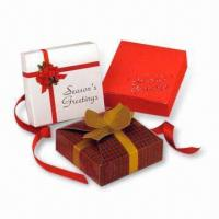 Cheap Gift Boxes, Suitable for Advertising Purposes, Made of Gray Board, Available with Printing for sale