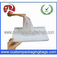 China Disposable Colored Plastic Biodegradable Bags Gloves For Food Service on sale