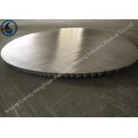 Cheap Stainless Steel Johnson Wire Screen Round Panel No Frame Strip Rod for sale